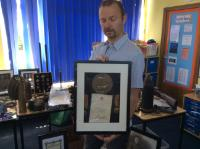Visit from a local WW1 historian (2)