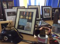 Visit from a local WW1 historian (3)