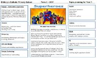 Topic Web 3 Superheroes